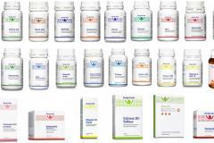 Produkte der Firma Burgerstein